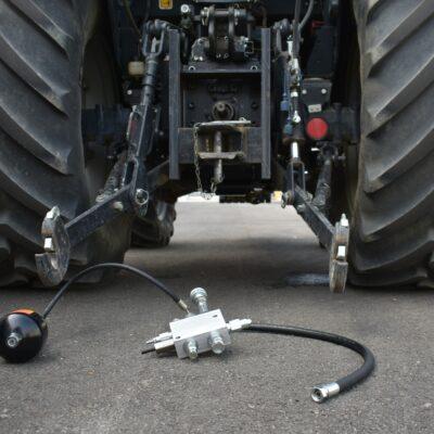dispositivo h1l-h2l e trattore singola linea